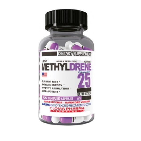Cloma Pharma Methyldrene Elite 100 Caps.