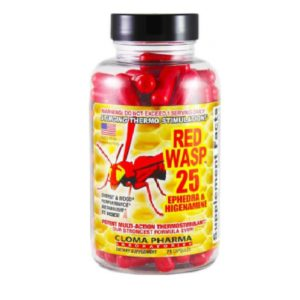 CLOMA PHARMA RED WASP 75 Caps.