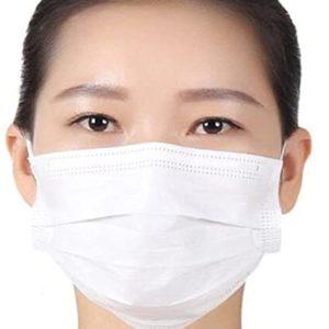 Maschera Afluid bianca
