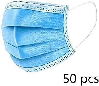 Mascherina chirurgica blu pacco da 50