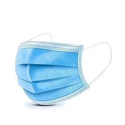 Mascherina chirurgica 3 strati blue